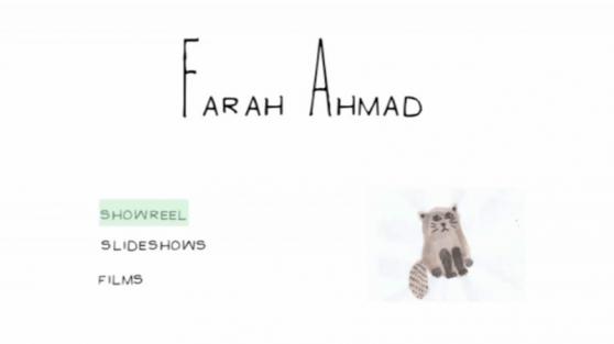 Farah Ahmad - DVD Design