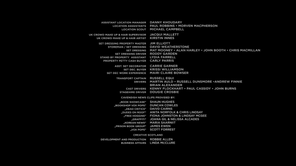 My name in Cloud Atlas Credits