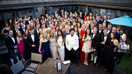 Edinburgh University Diploma Ball – May 2013 at Roxburghe Hotel