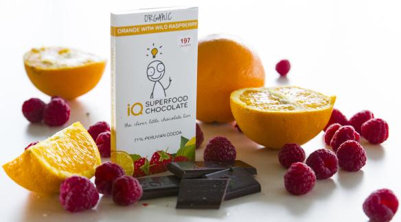 IQ Chocolate - Orange & Raspberry