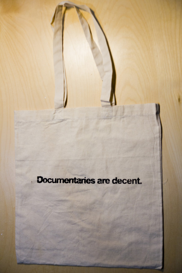 Documentaries are Decent - Tote Bags