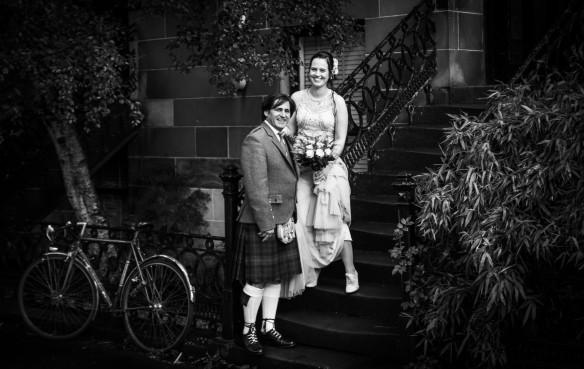 Mehdi & Lyndsey Saki - Edinburgh Wedding Photography