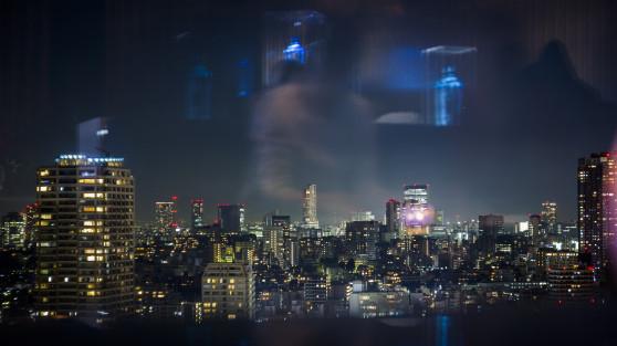 Tokyo Skyline - Duncan Cowles