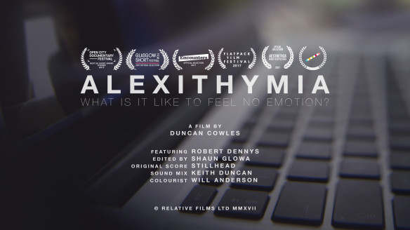 Alexithymia Poster Duncan Cowles