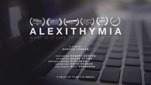 Alexithymia Poster Duncan Cowles
