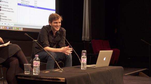 Duncan Cowles Talk at BFI Southbank 2017