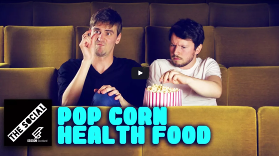 BBC The Social - Popcorn is a Health Food